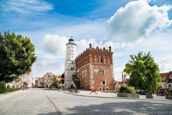 Starówka w Sandomierzu