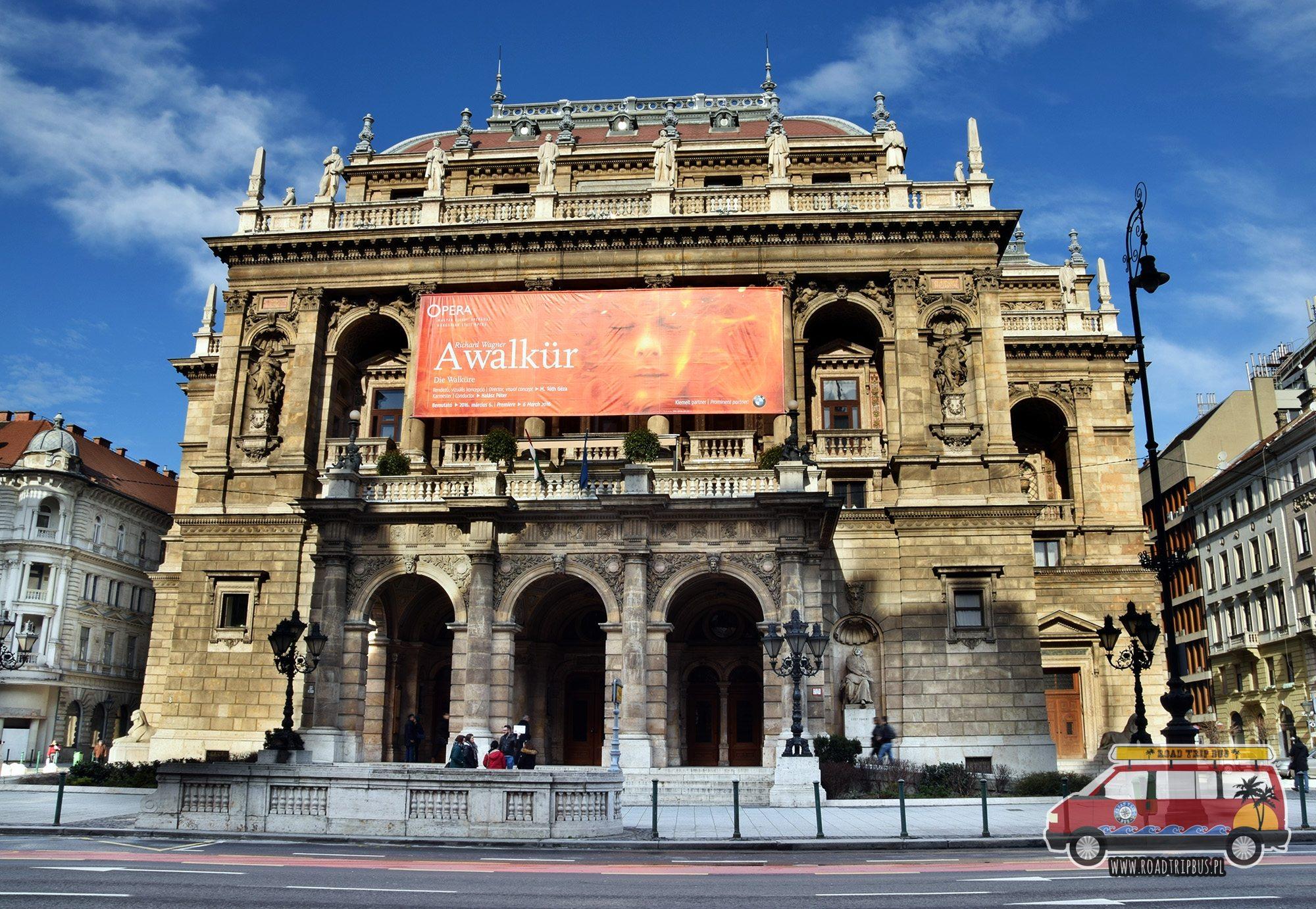 Opera Narodowa w Budapeszcie
