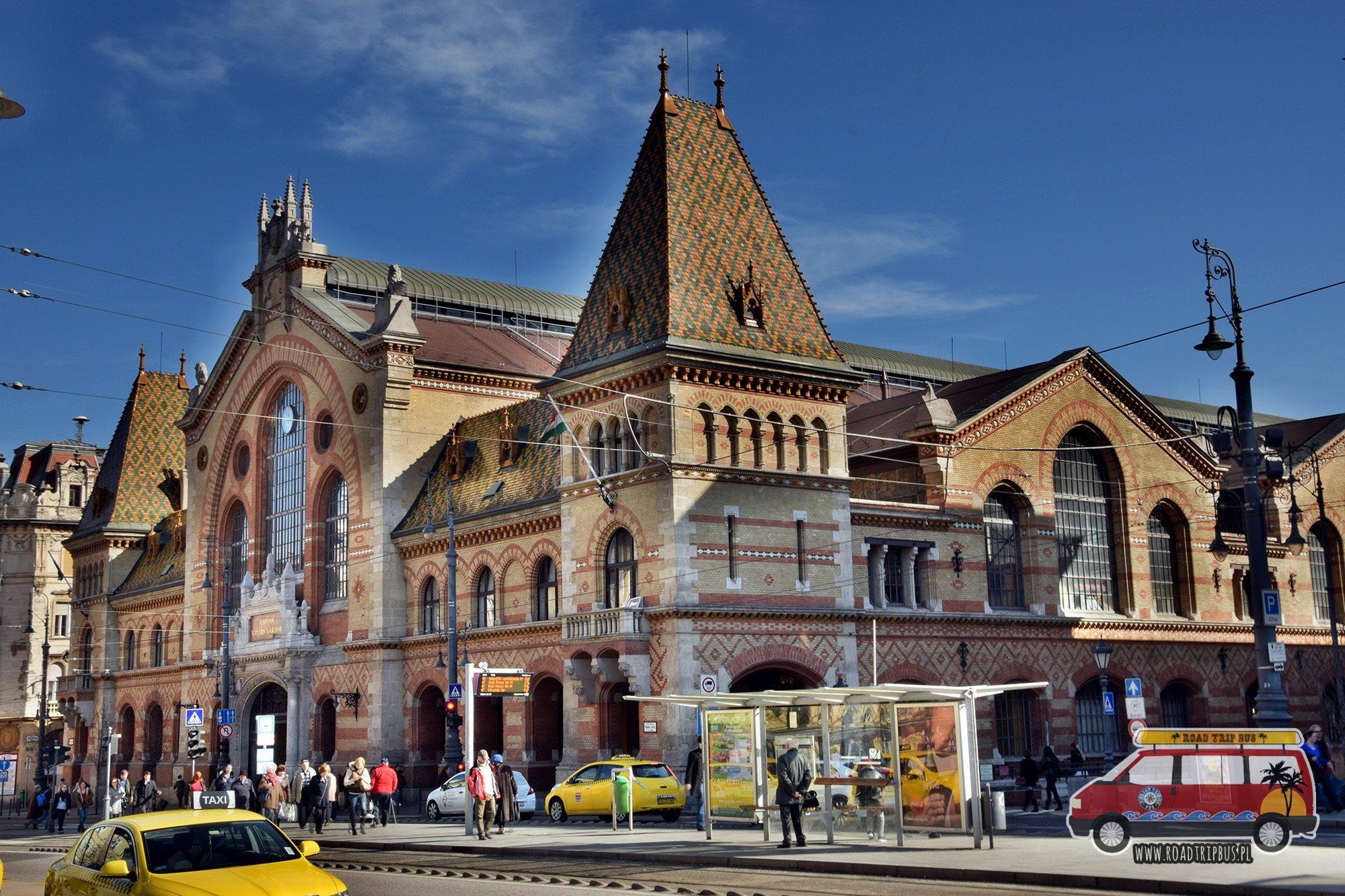 Centralna Hala Targowa w Budapeszcie
