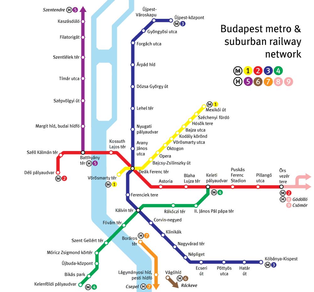 metro budapeszt