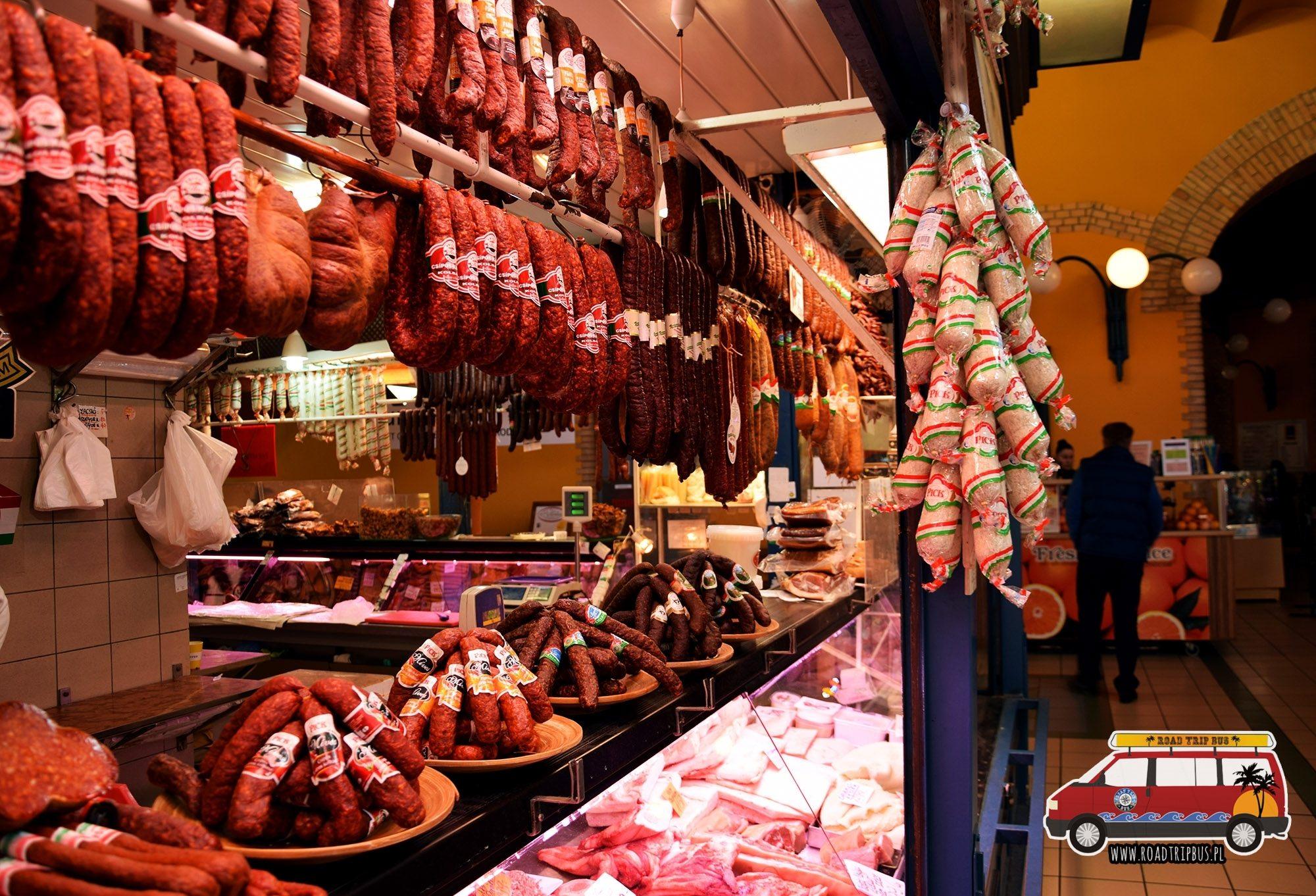 Ile kosztuje mięso w Budapeszcie?