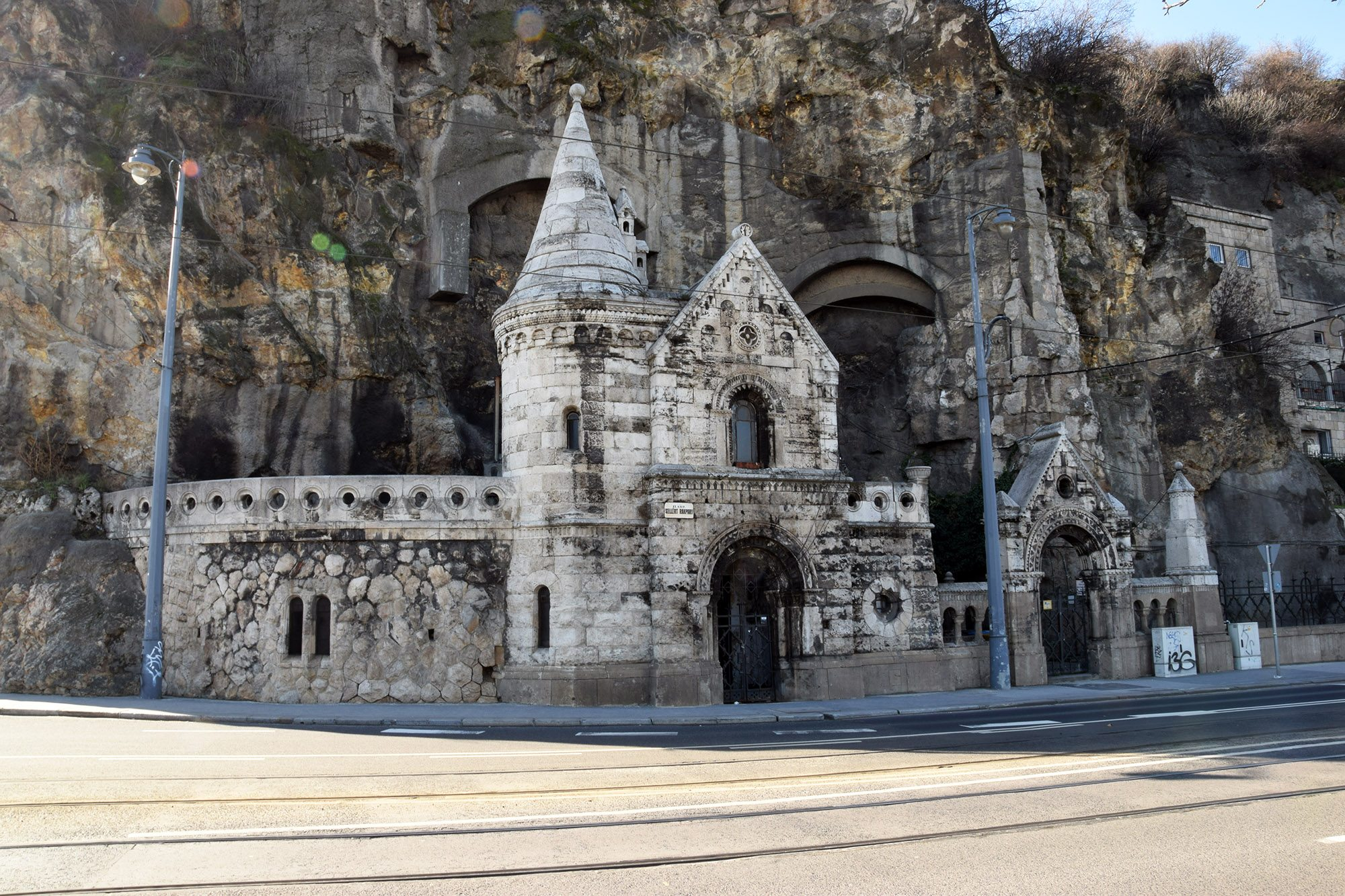 kaplica w skale Budapeszt