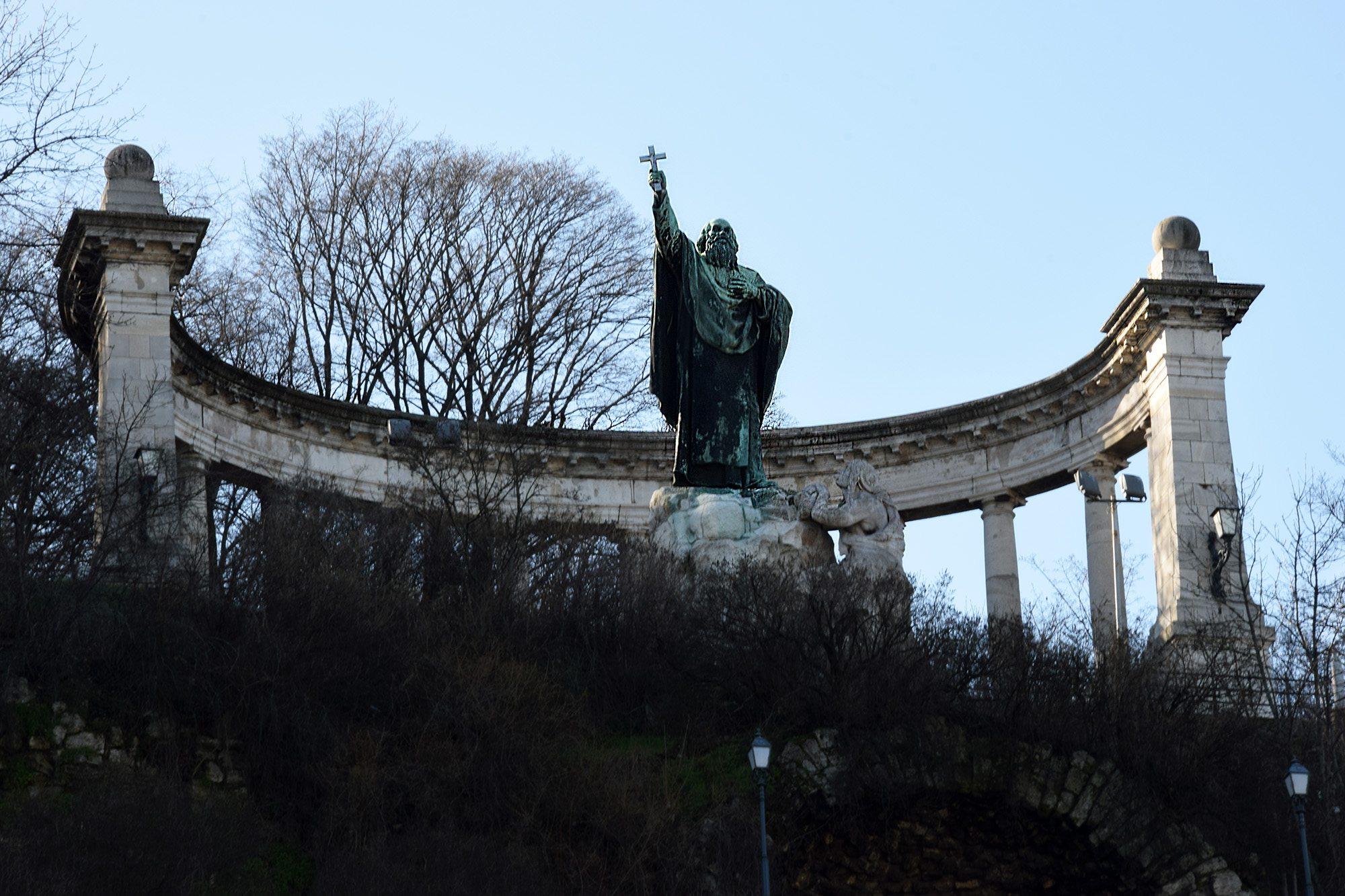 statua Gellerta Budapeszt