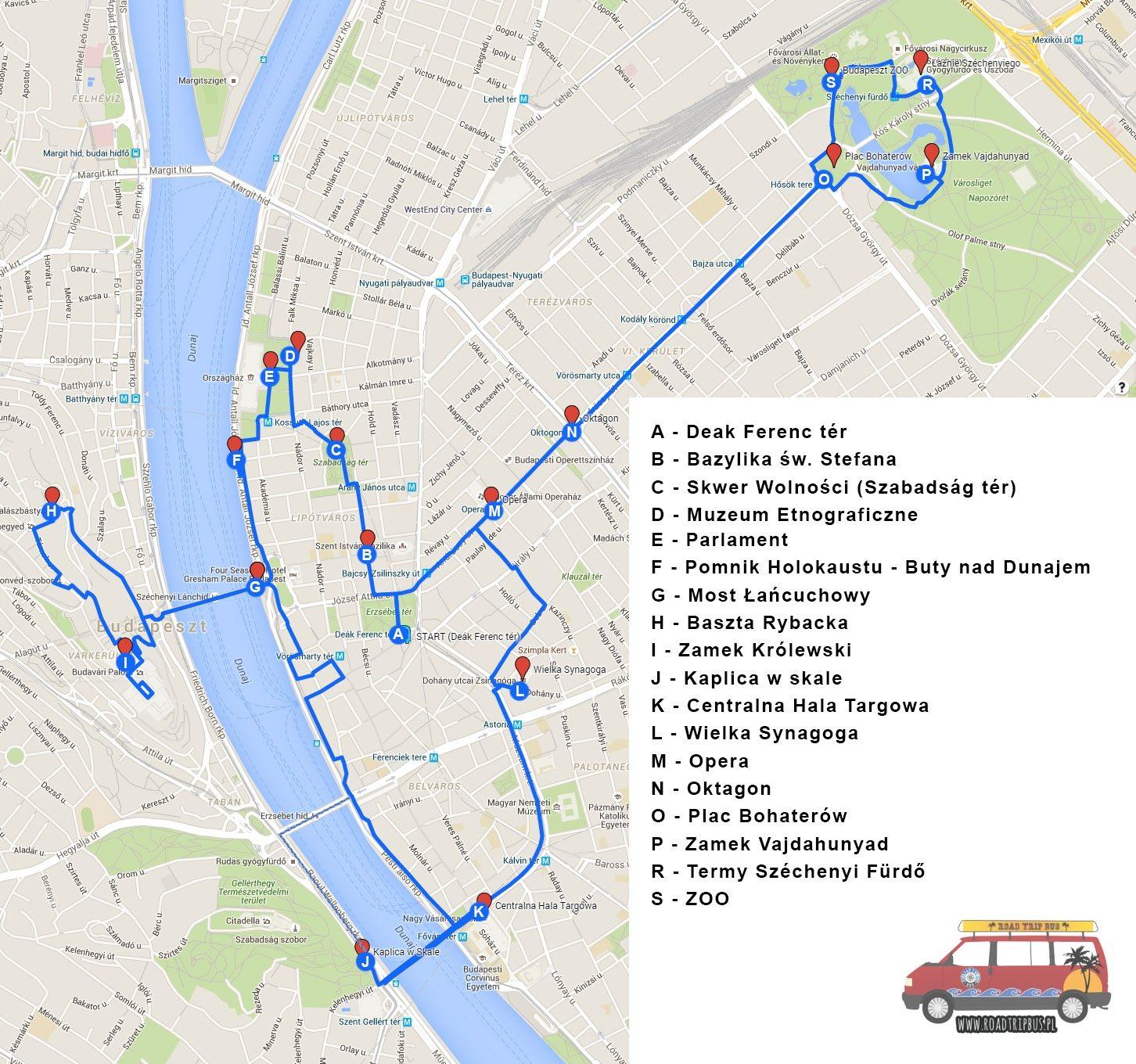 zwiedzanie Budapeszt w jeden dzień