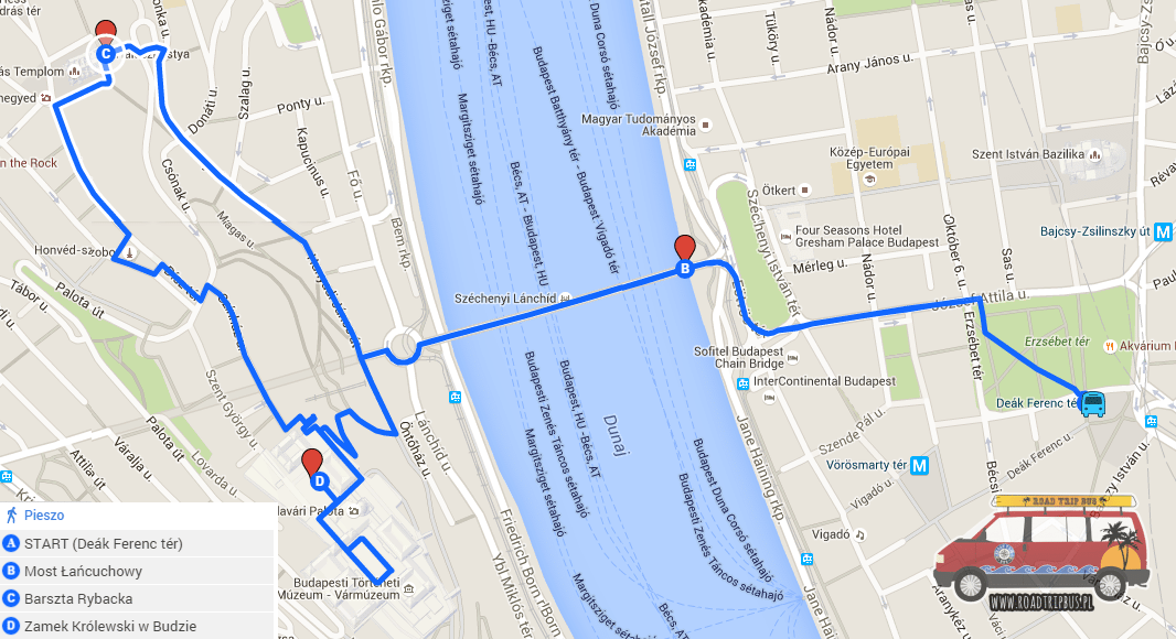 zwiedzanie Budapesztu w kilka godzin