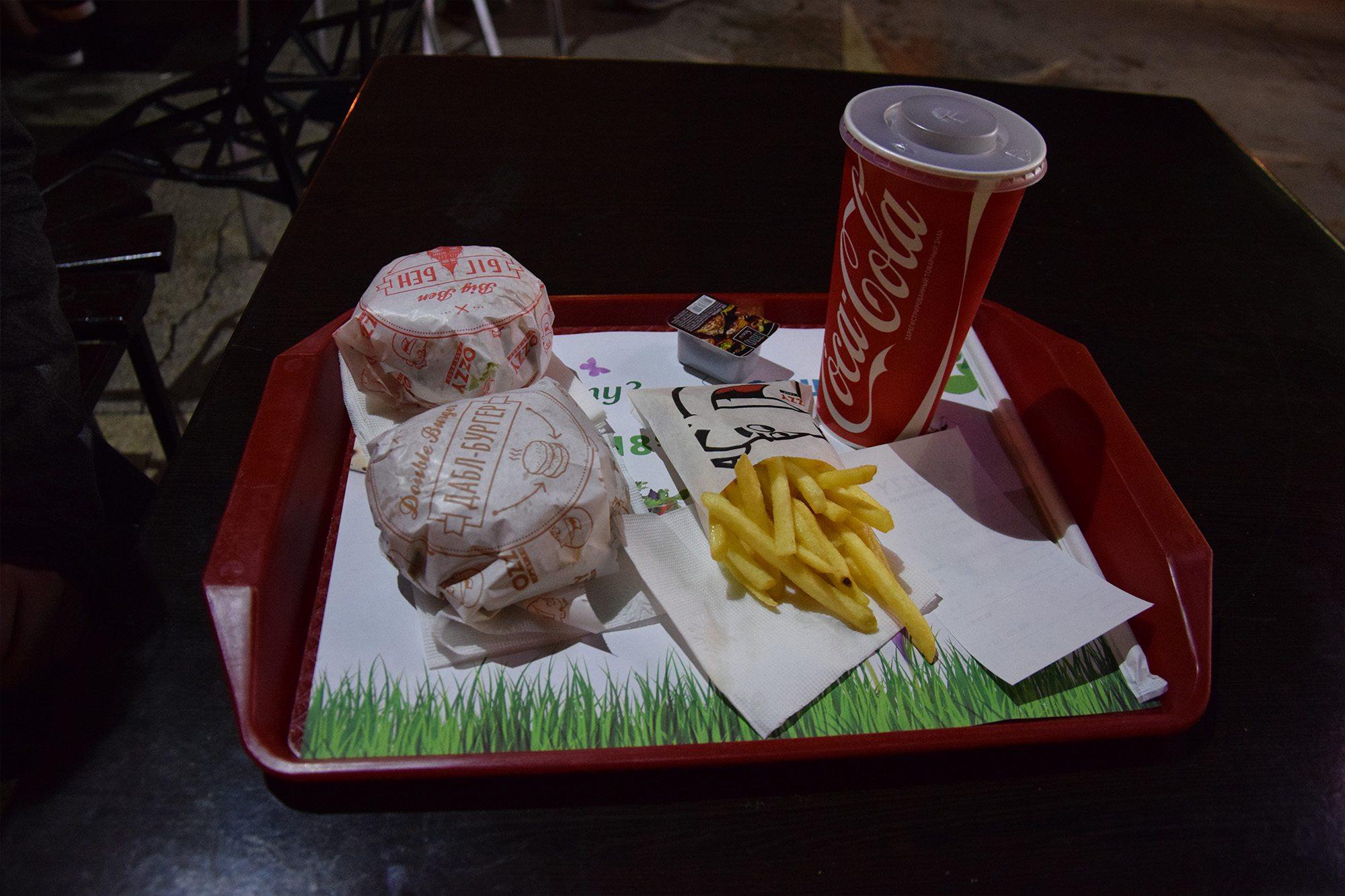 Ceny Fast Food Ukraina