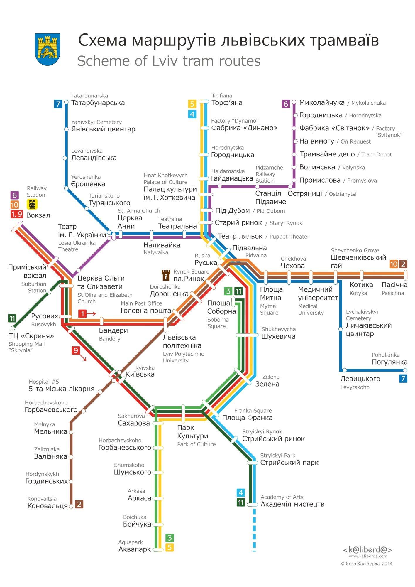 tramwaje Lwów