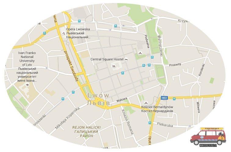 centrum Lwów