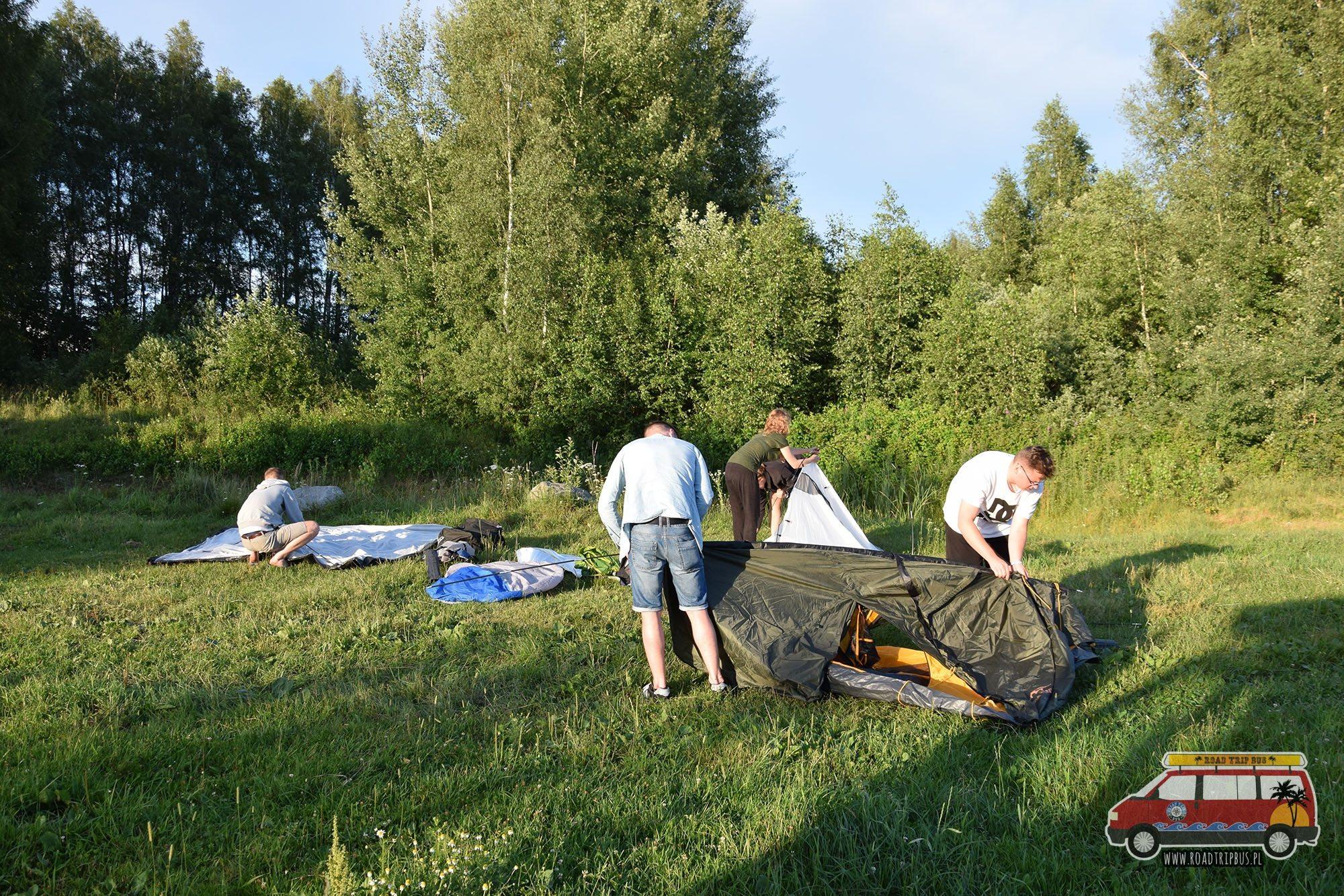 namioty Litwa