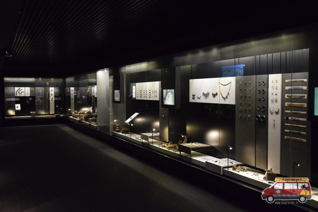 Jedna z ekspozycji w muzeum archeologicznym w Kernave.