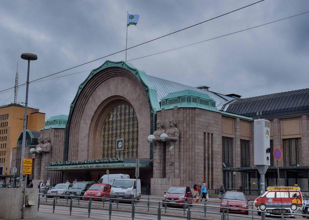 Dworzec Główny w Helsinkach.