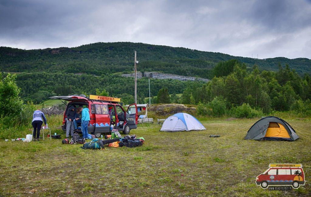 Nasz obóz 11 dnia wyprawy.