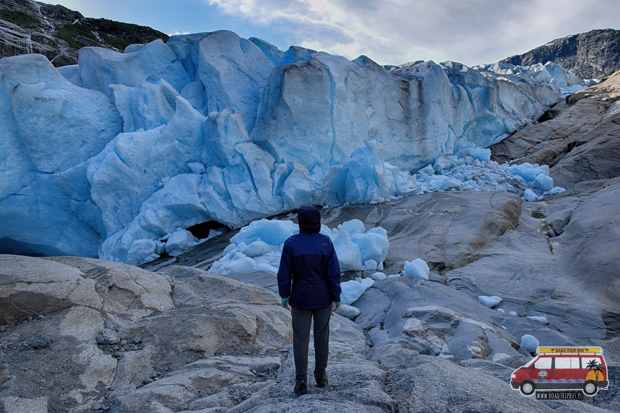 Jęzor lodowca Nigardsbreen