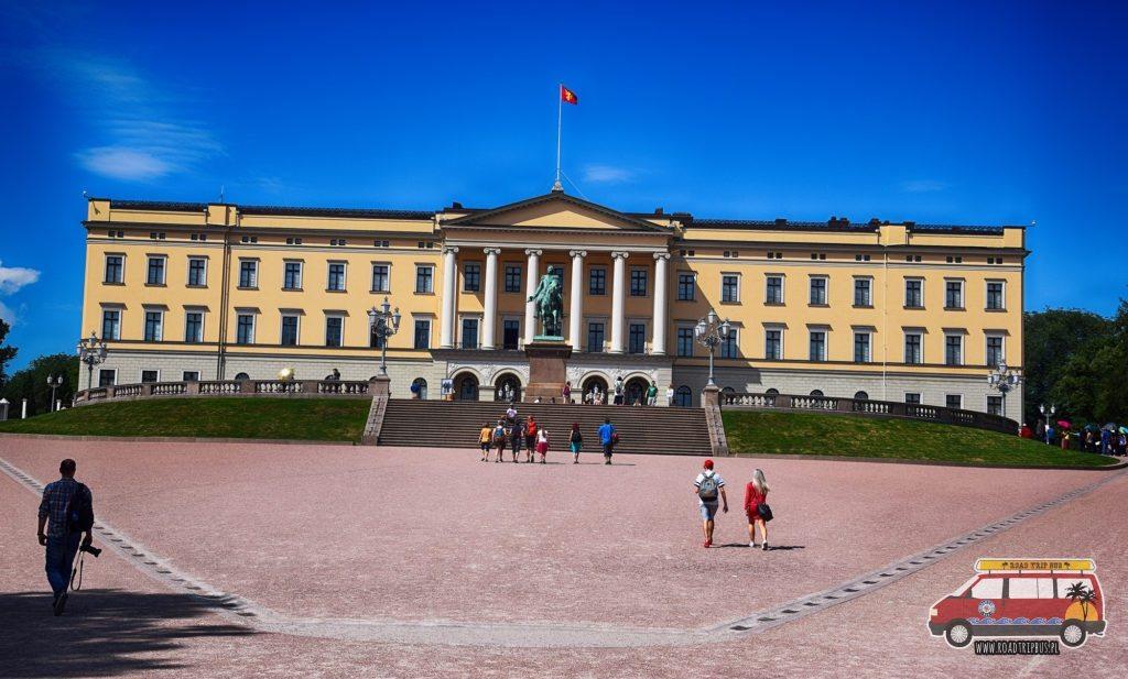 Pałac Królewski w Oslo.