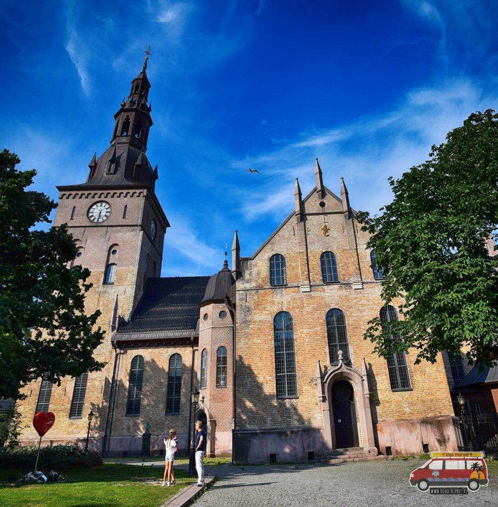 Katedra w Oslo.