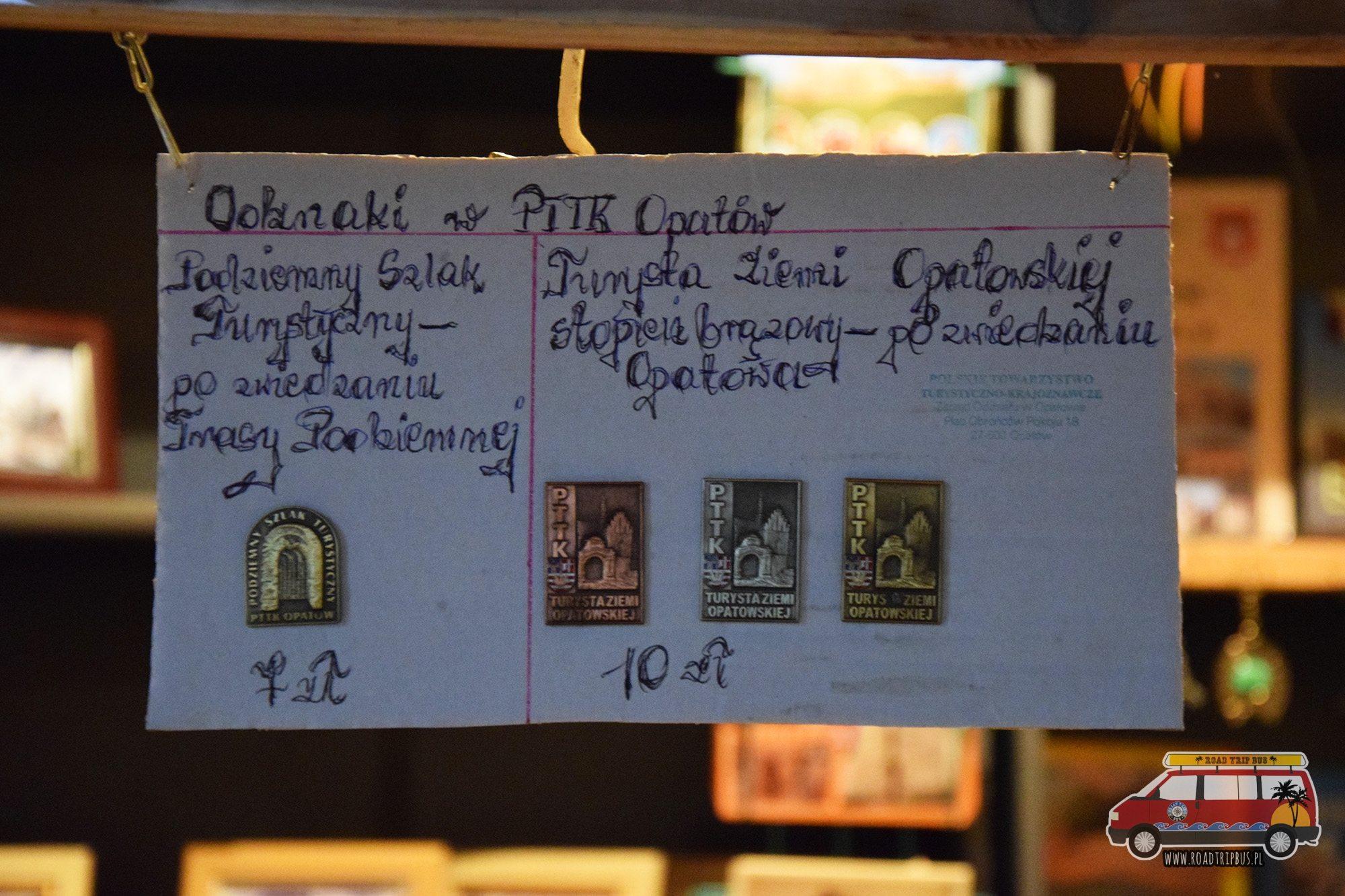 odznaki PTTK Opatów