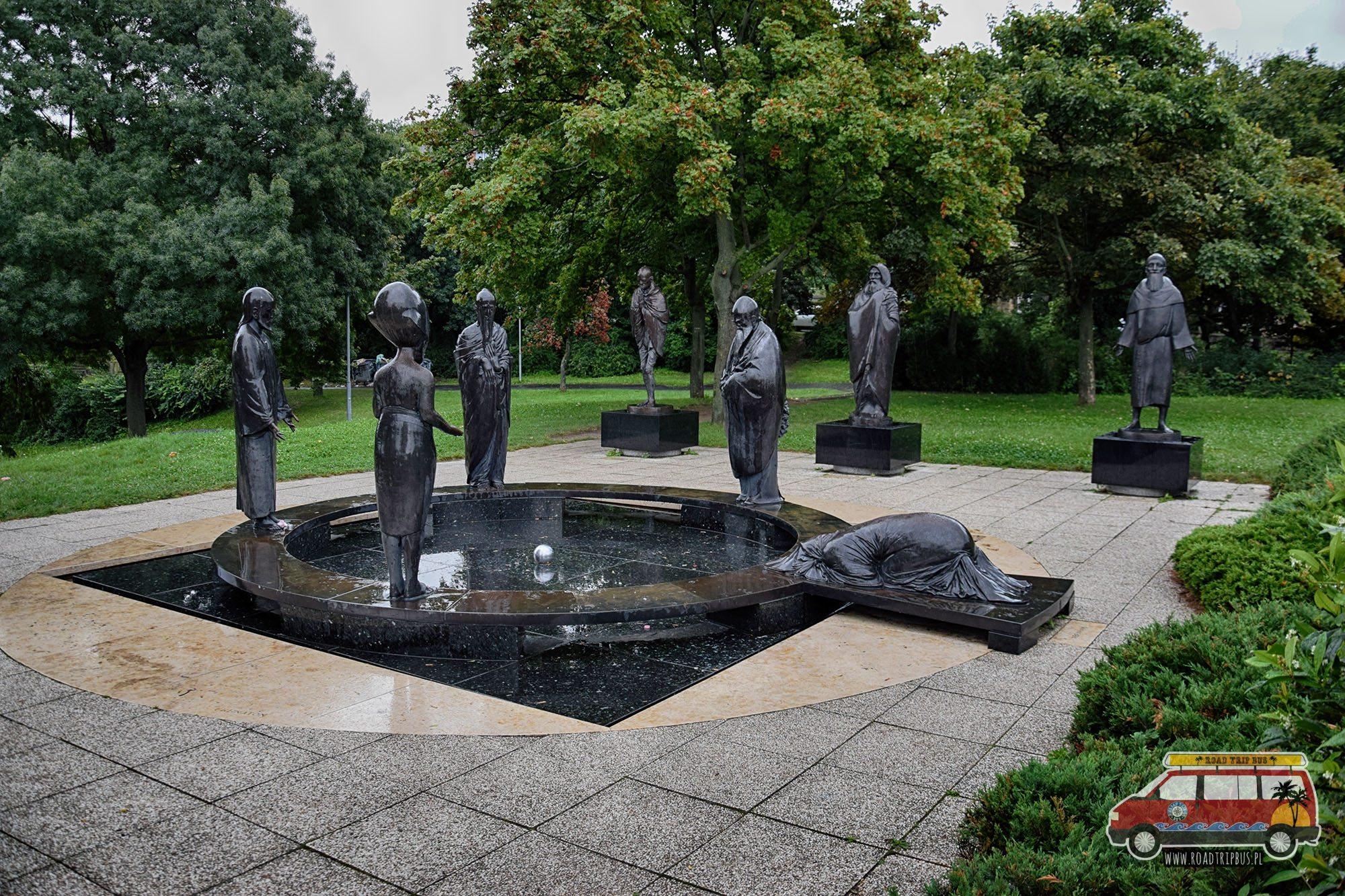 ogród filozofii Budapeszt