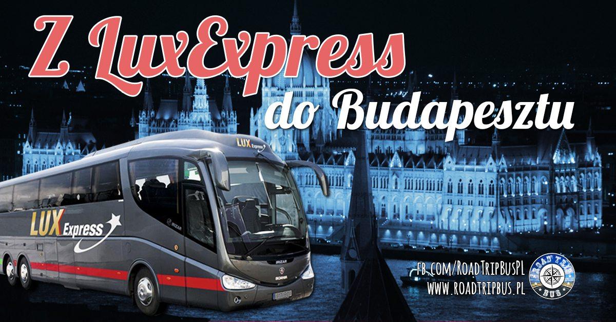 LuxExpress do Budapesztu