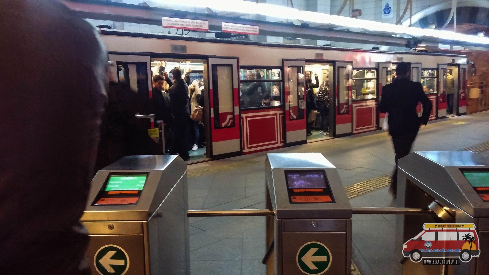bramki transport publiczny stambuł