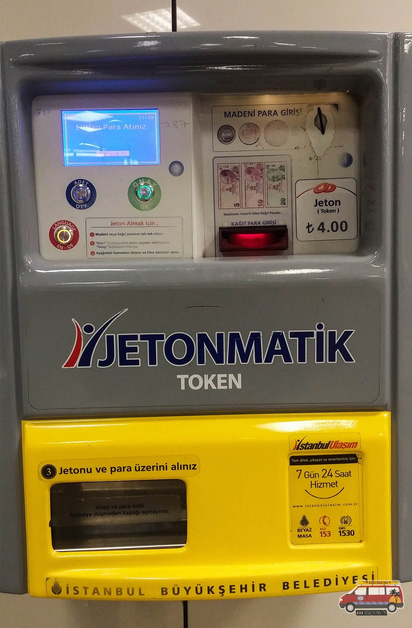 automat na bilety Stambuł