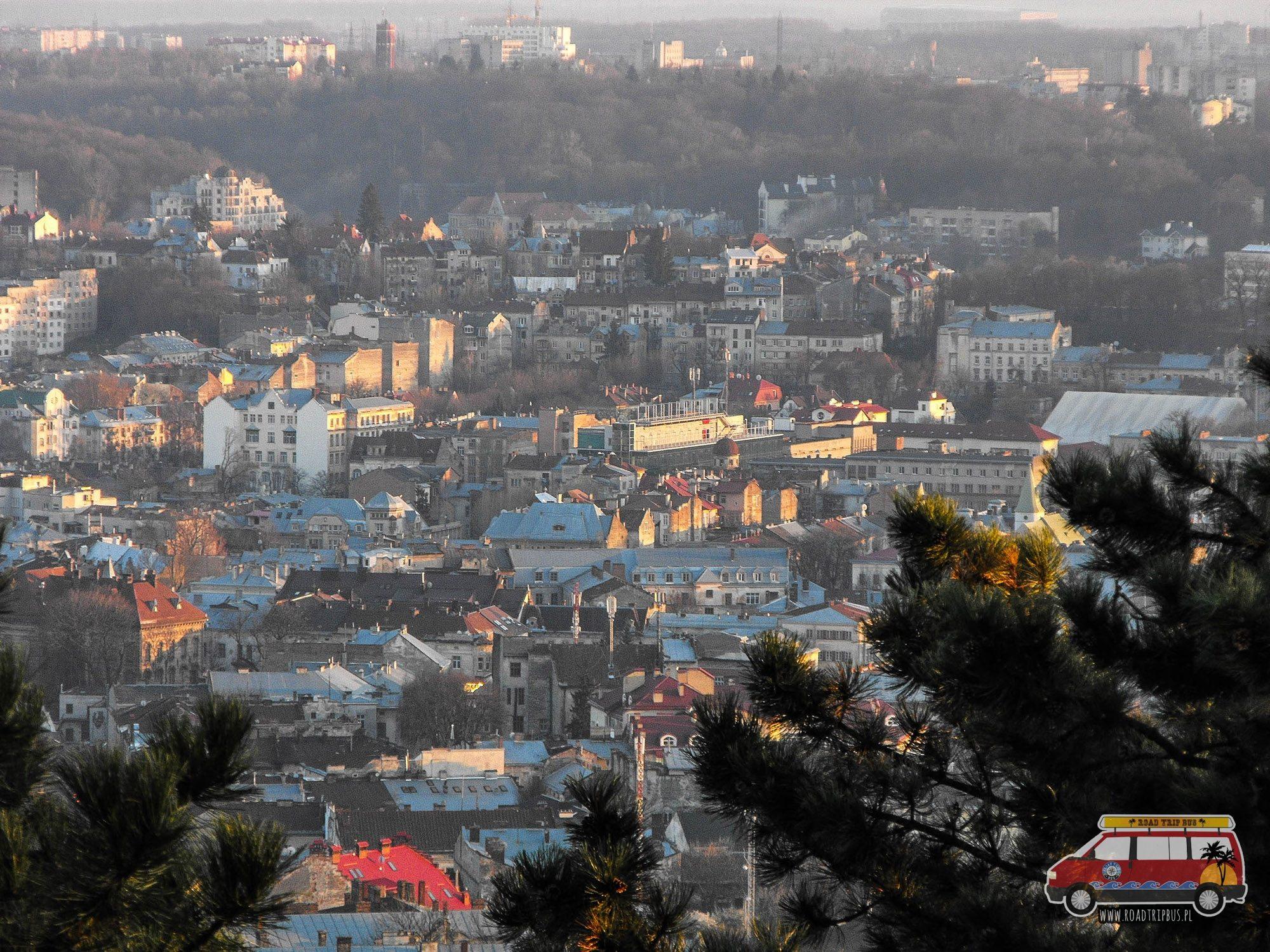 Widok na miasto z Wysokiego Zamku.