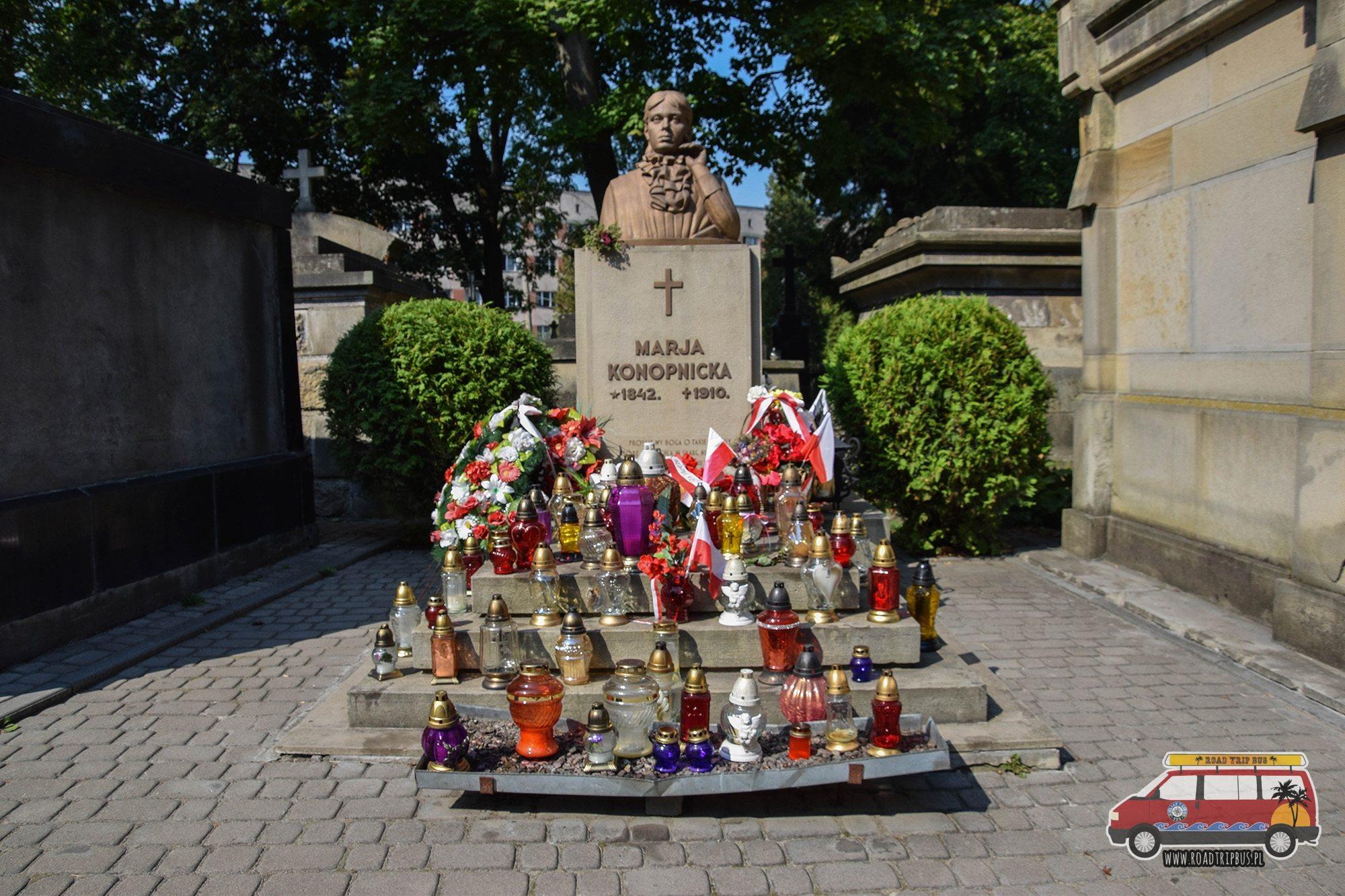 Cmentarz Łyczakowski Konopnicka