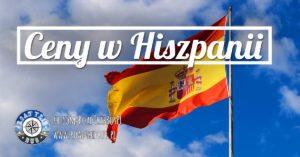 Ceny w Hiszpanii