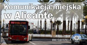 Komunikacja miejska w Alicante
