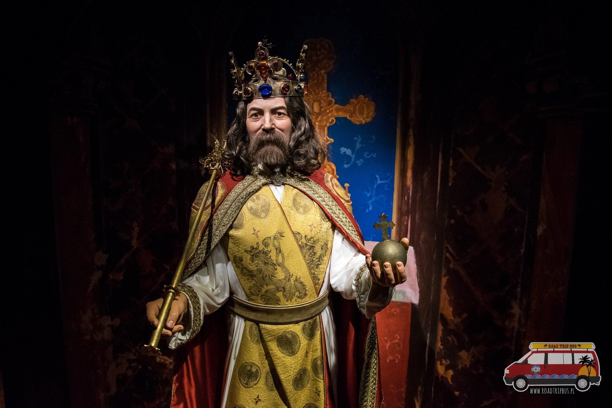cesarz karol muzeum figur woskowych