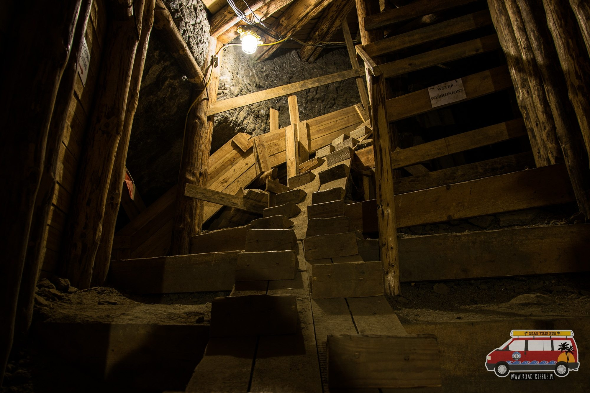 schody kopalnia
