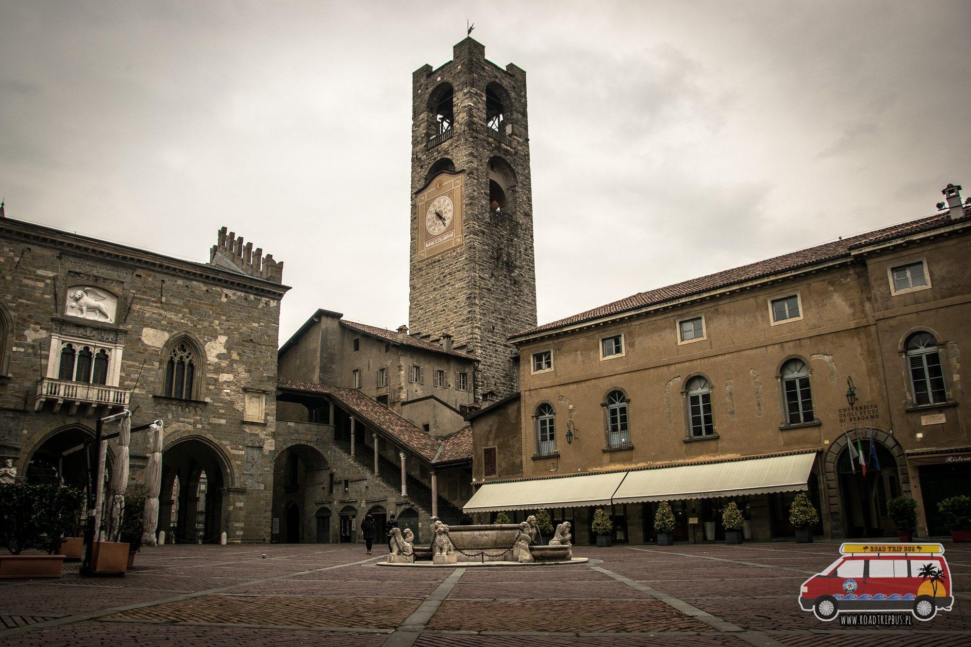 plac Vecchia Bergamo