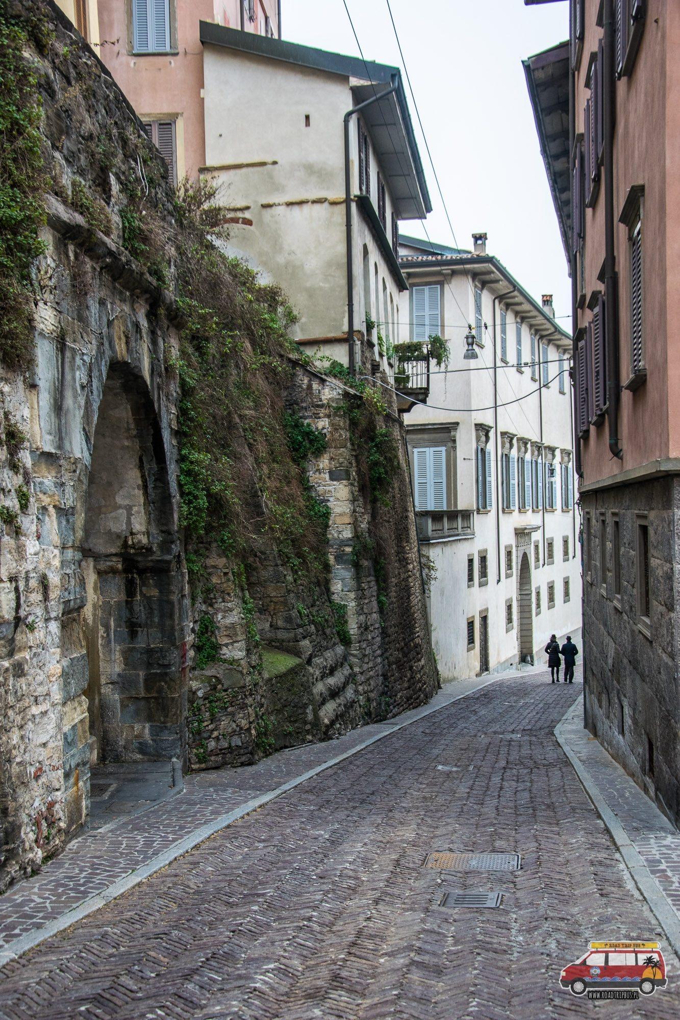 uliczka bergamo