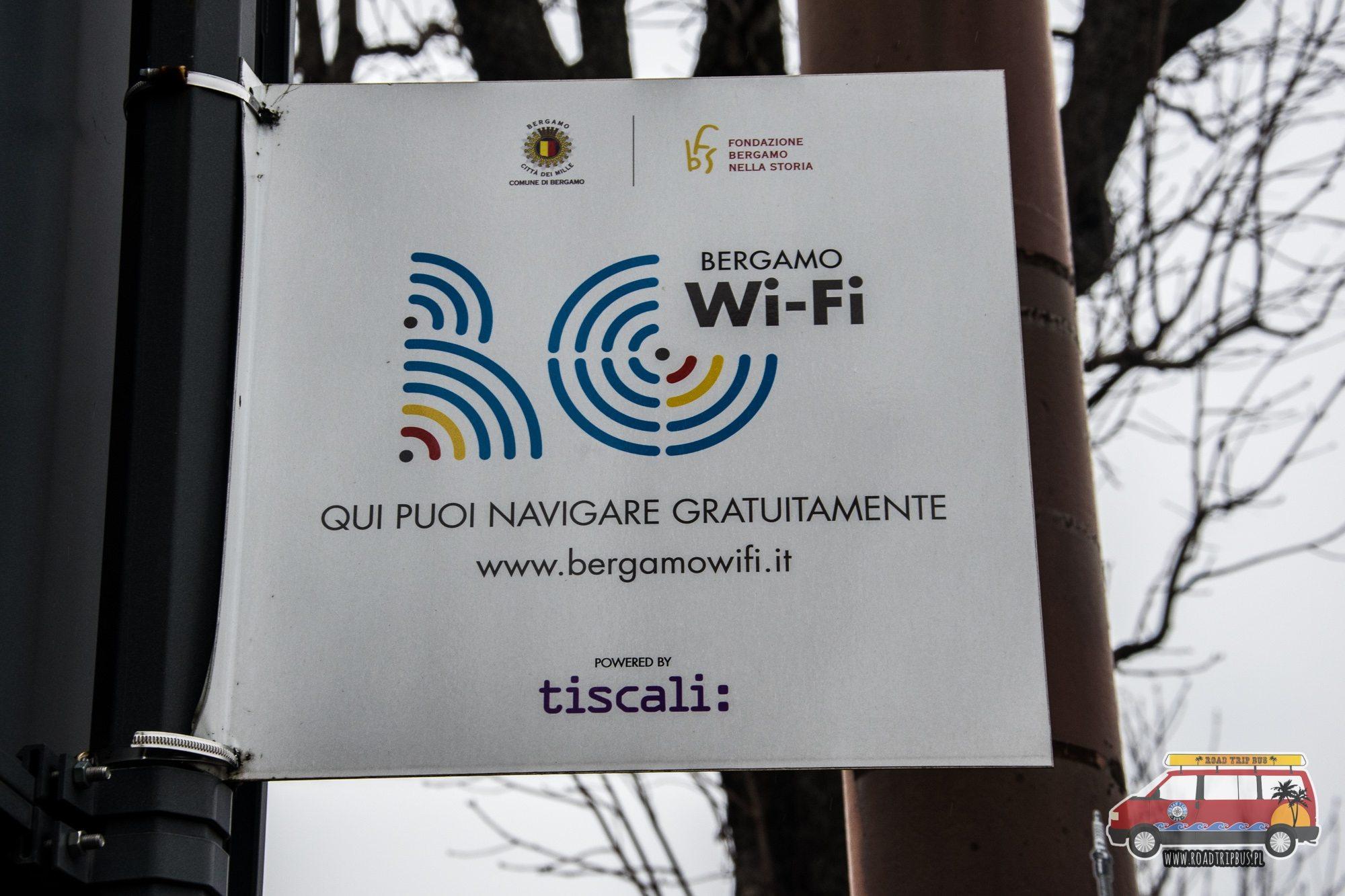 wifi bergamo