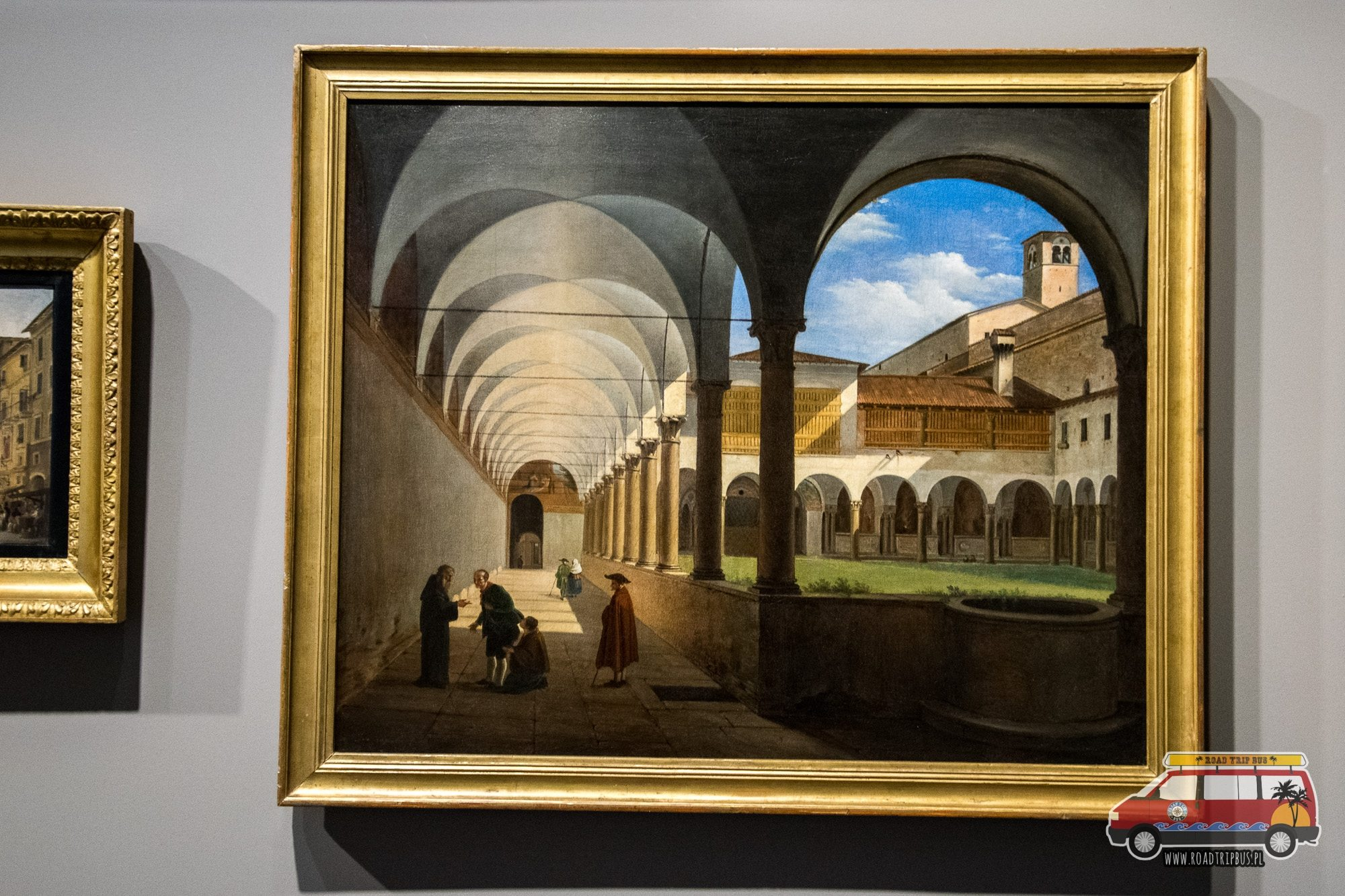 obraz klasztor