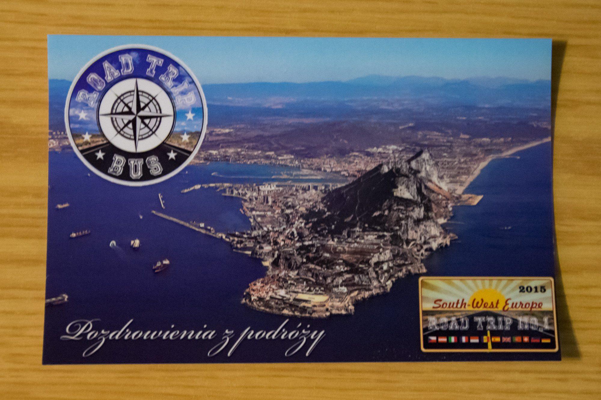 pocztowka z gibraltaru