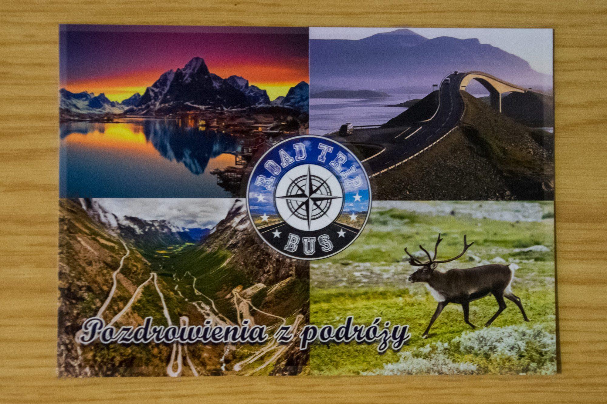 kartka pocztowa kolo podbiegunowe