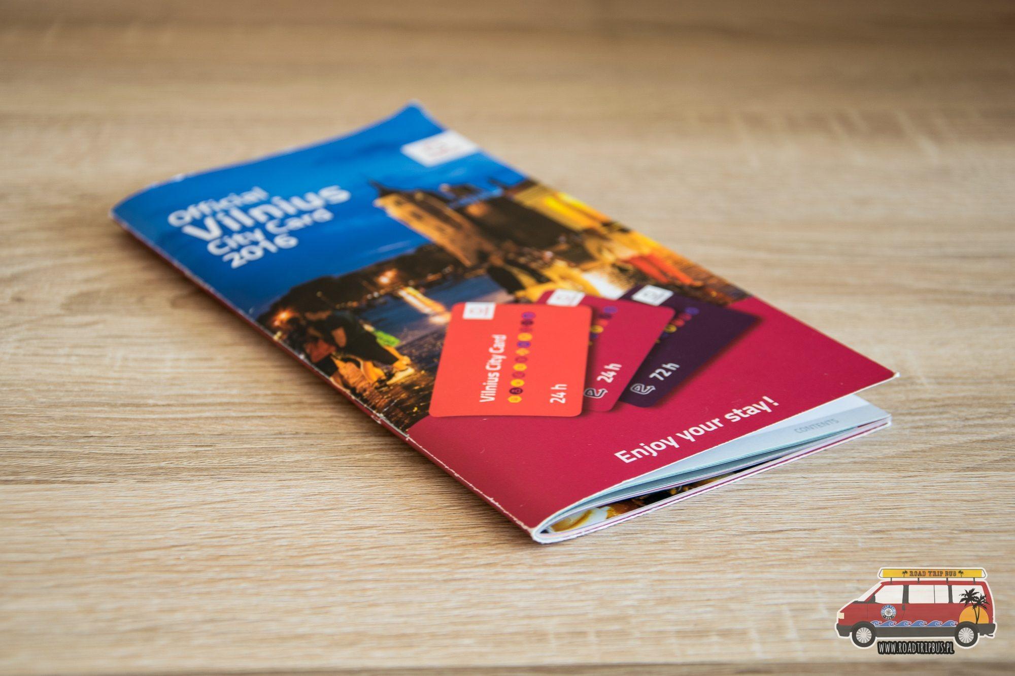 vilnius city card katalog