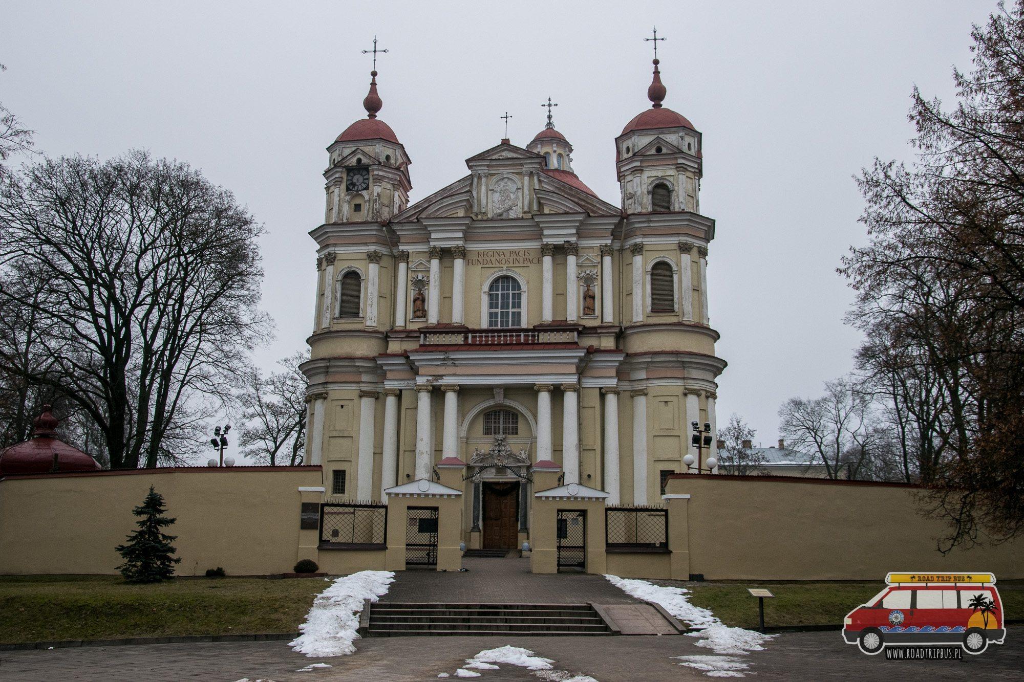 kościół świętego piotra i pawła w wilnie