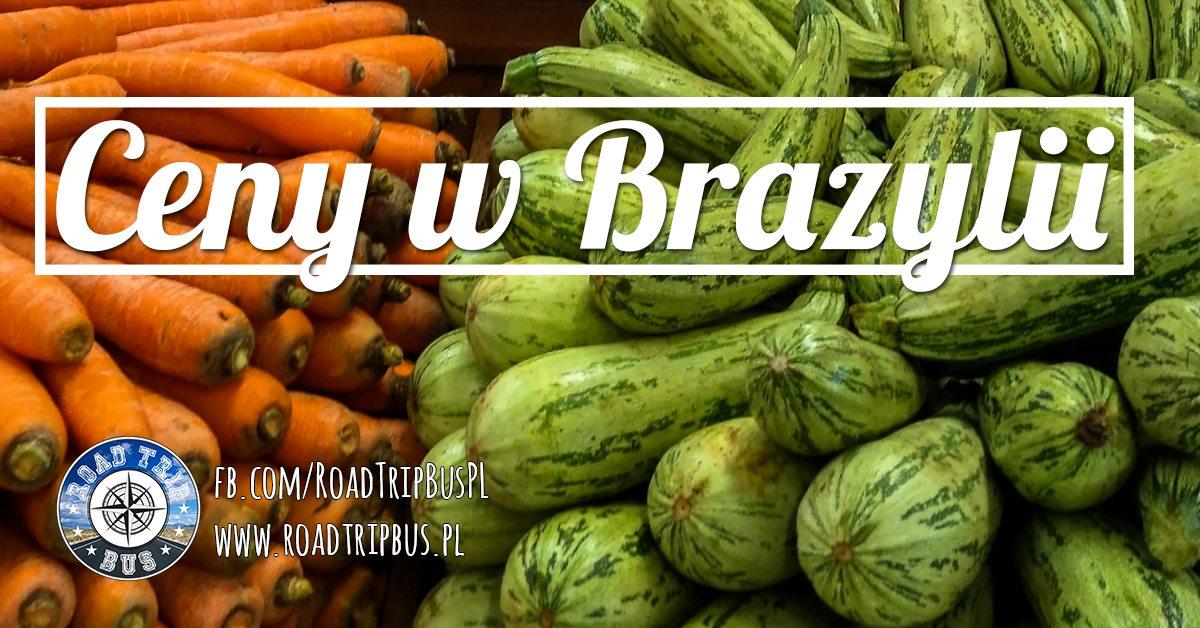 ceny w brazylii