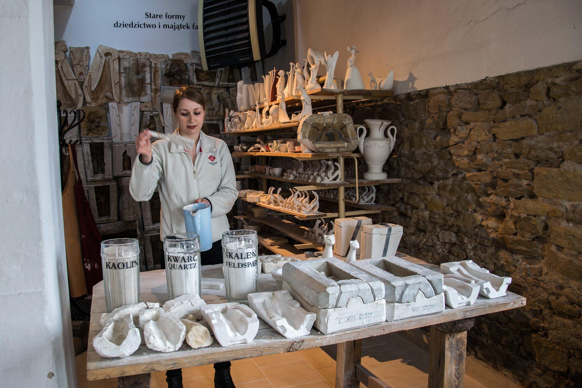produkcja porcelany ćmielow
