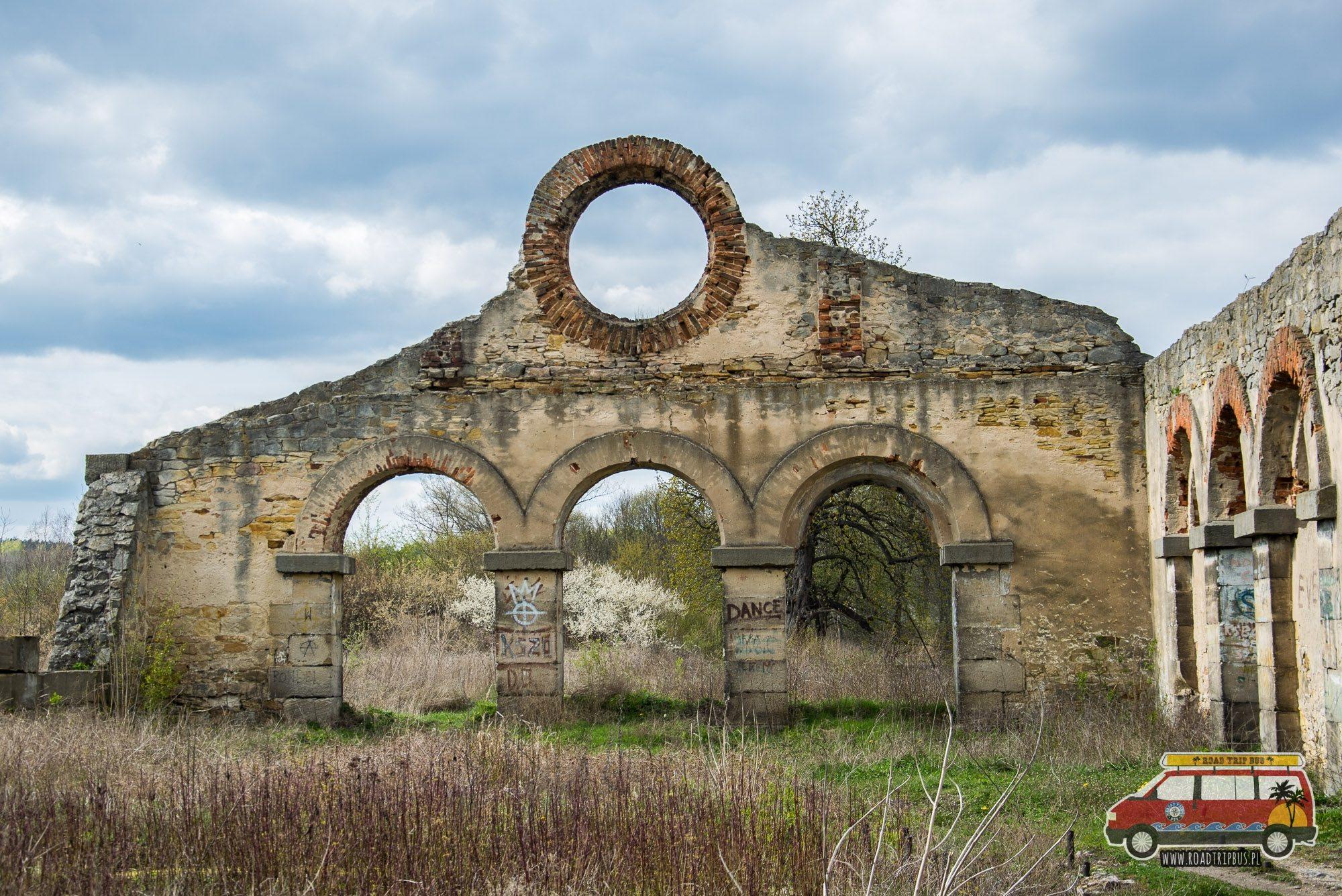 ruiny walcowni nietulisko