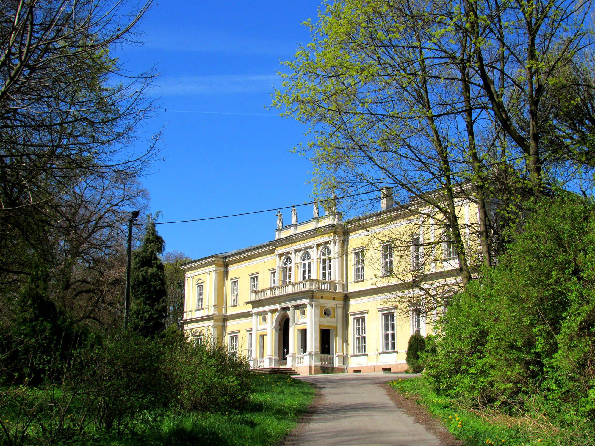 pałac chroberz