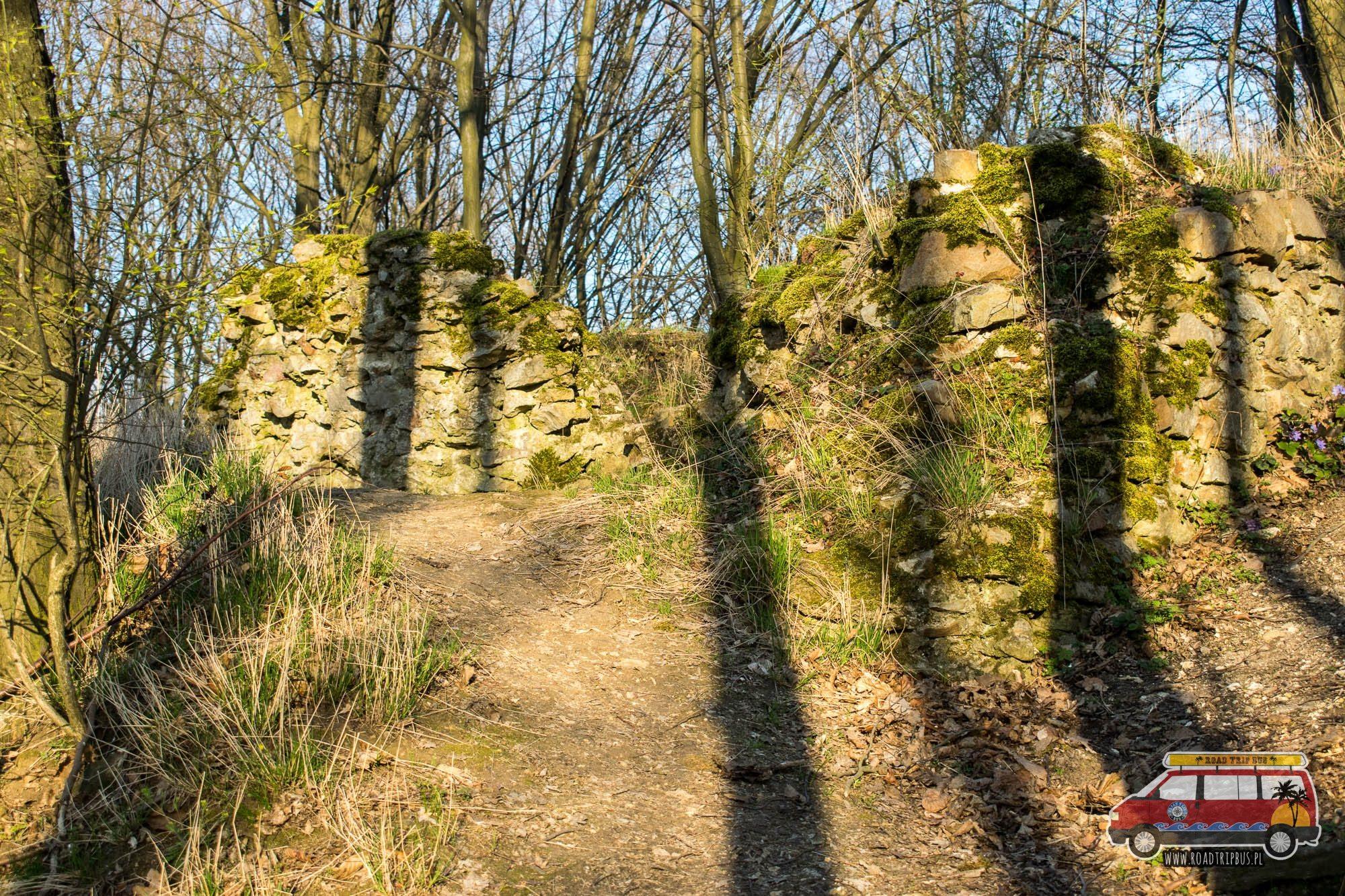 ruiny zamku szumsko