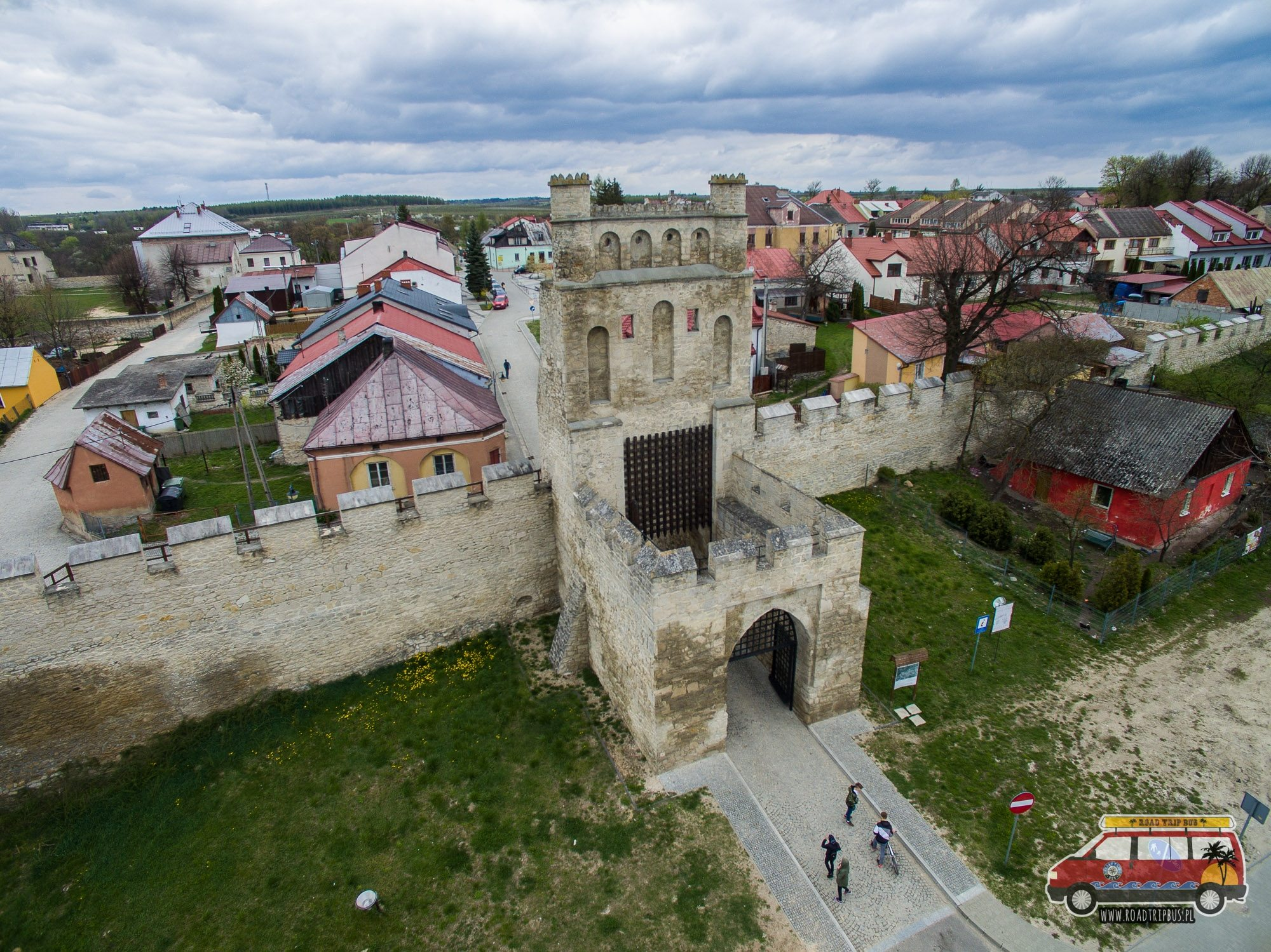 brama krakowska szydłów