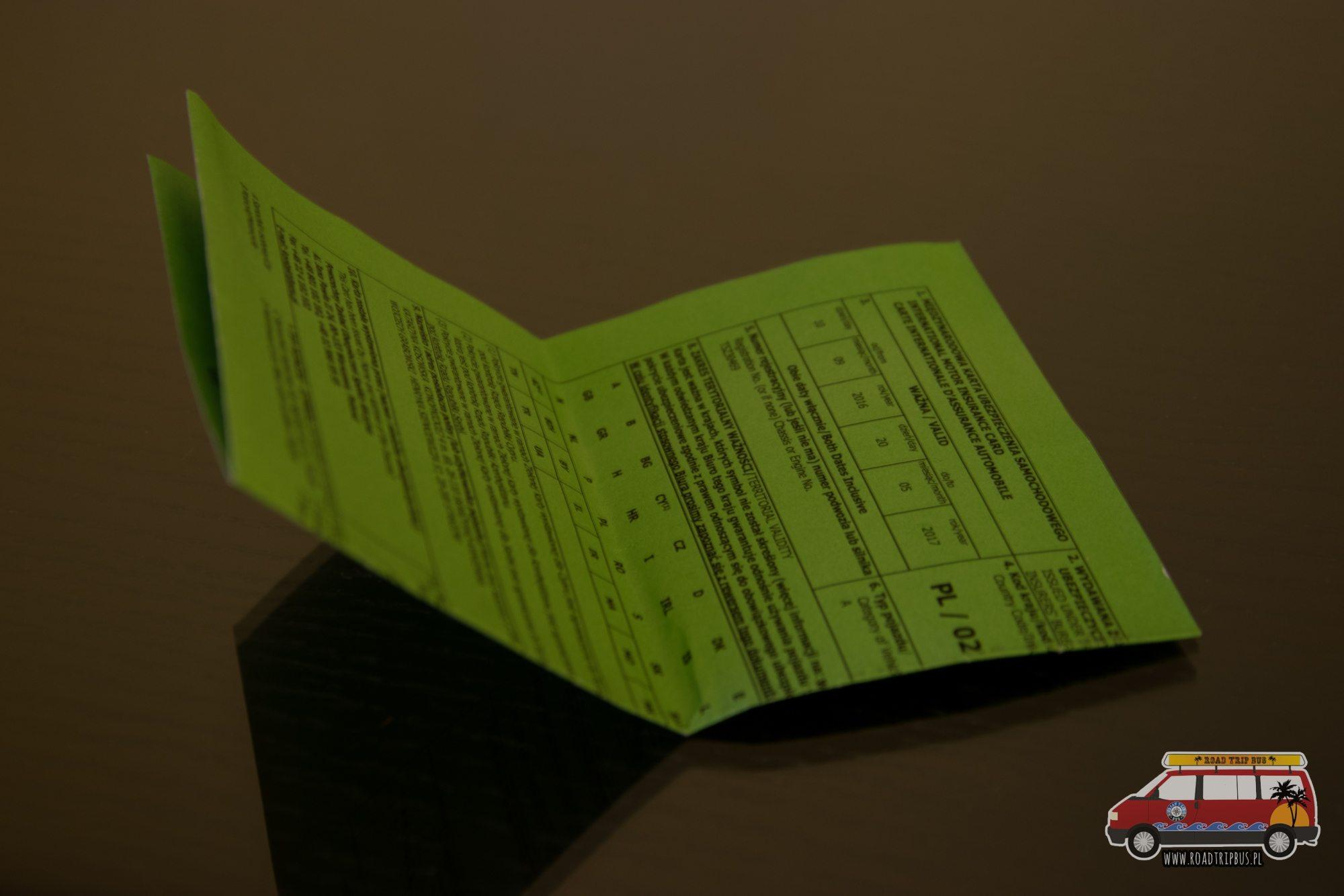 Zielona Karta Usa Jak Wyrobic.Zielona Karta Dla Samochodu Ile Kosztuje I Jak Ja Wyrobic