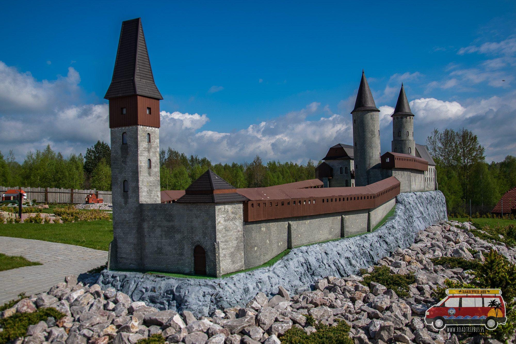 miniatura zamku w chęcinach