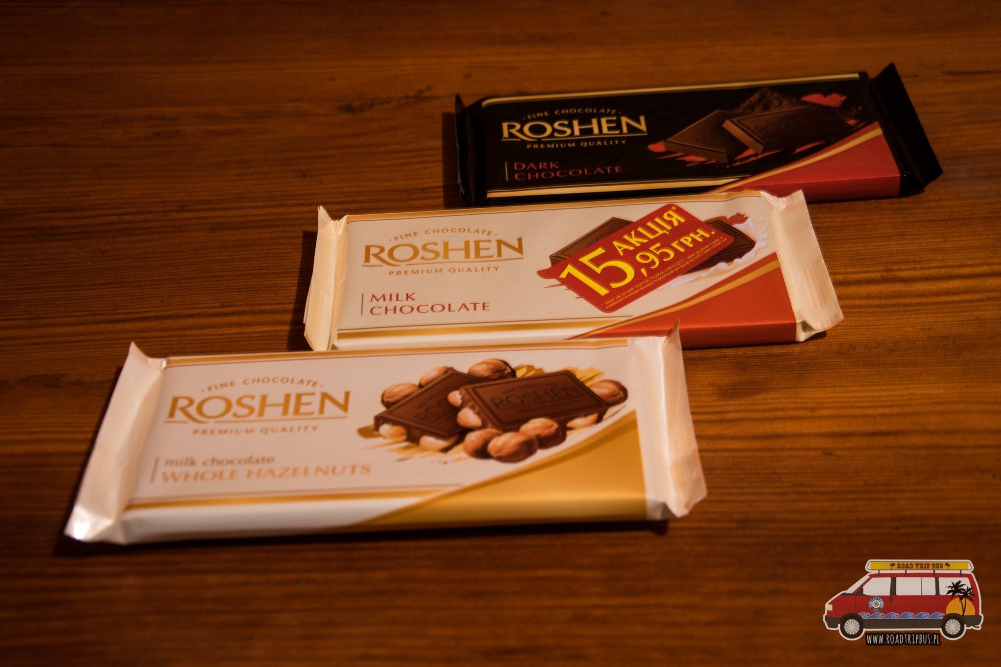 czekolady roshen