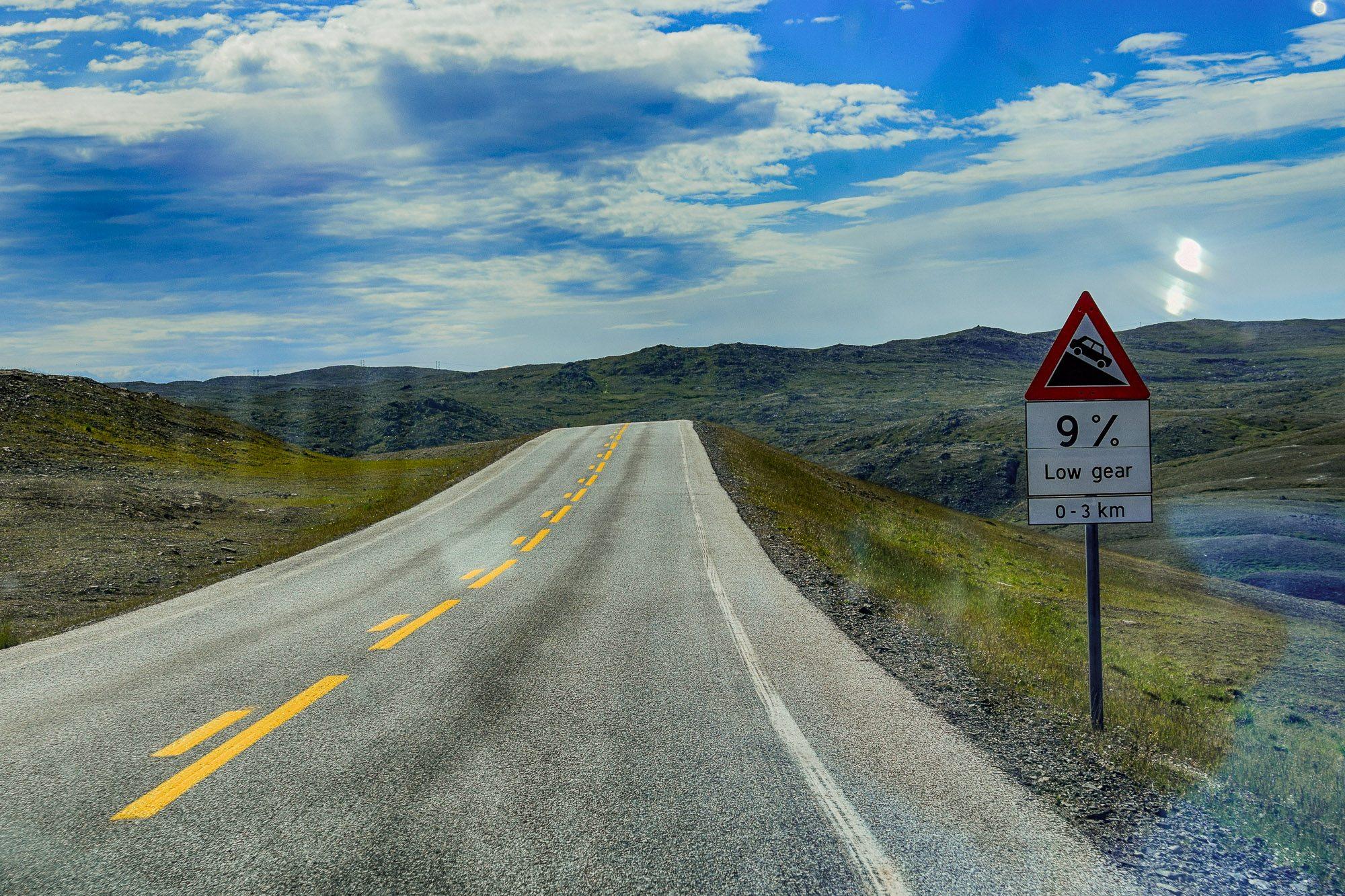 drogi w norwegii