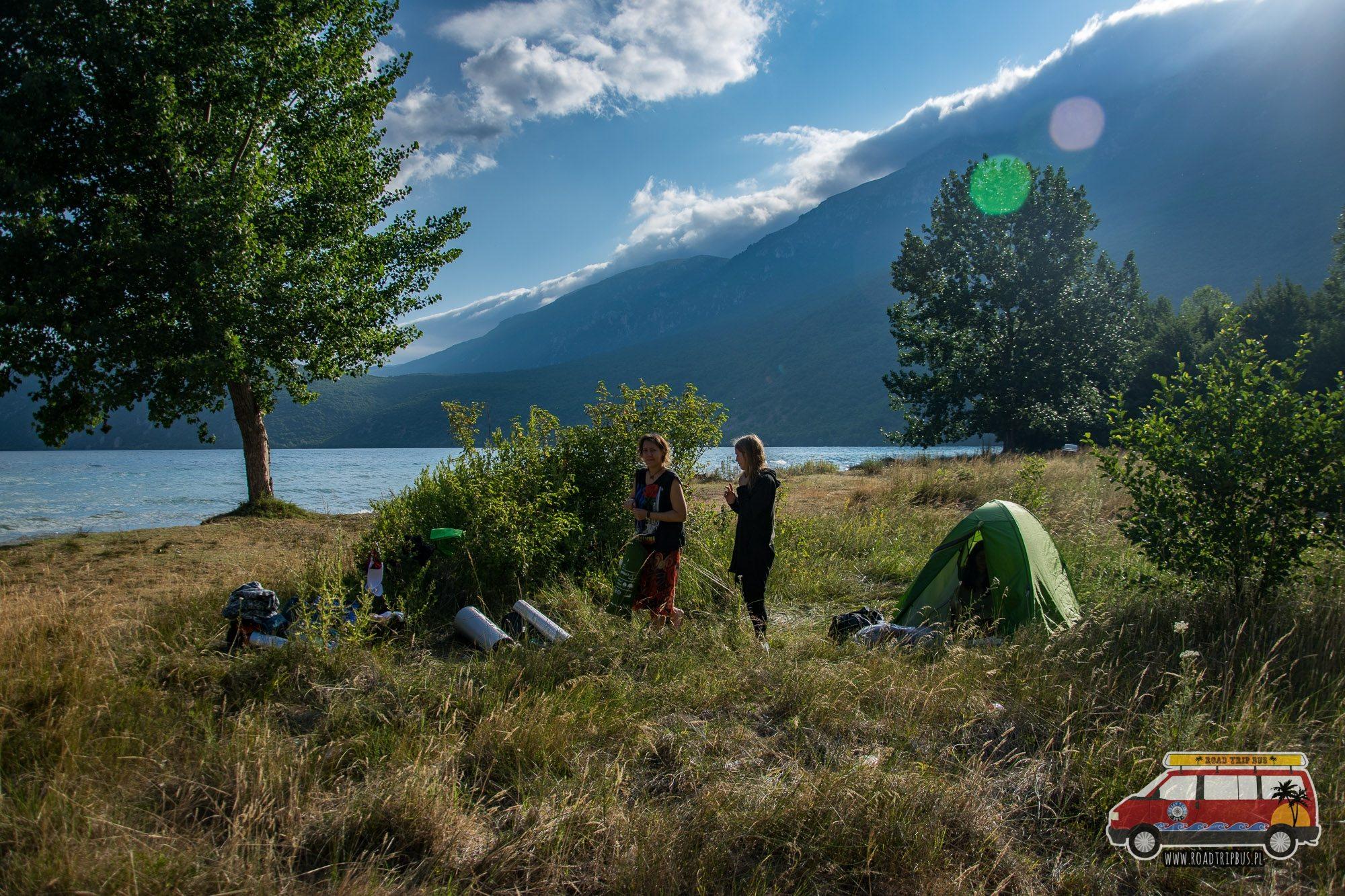 namiot w macedonii