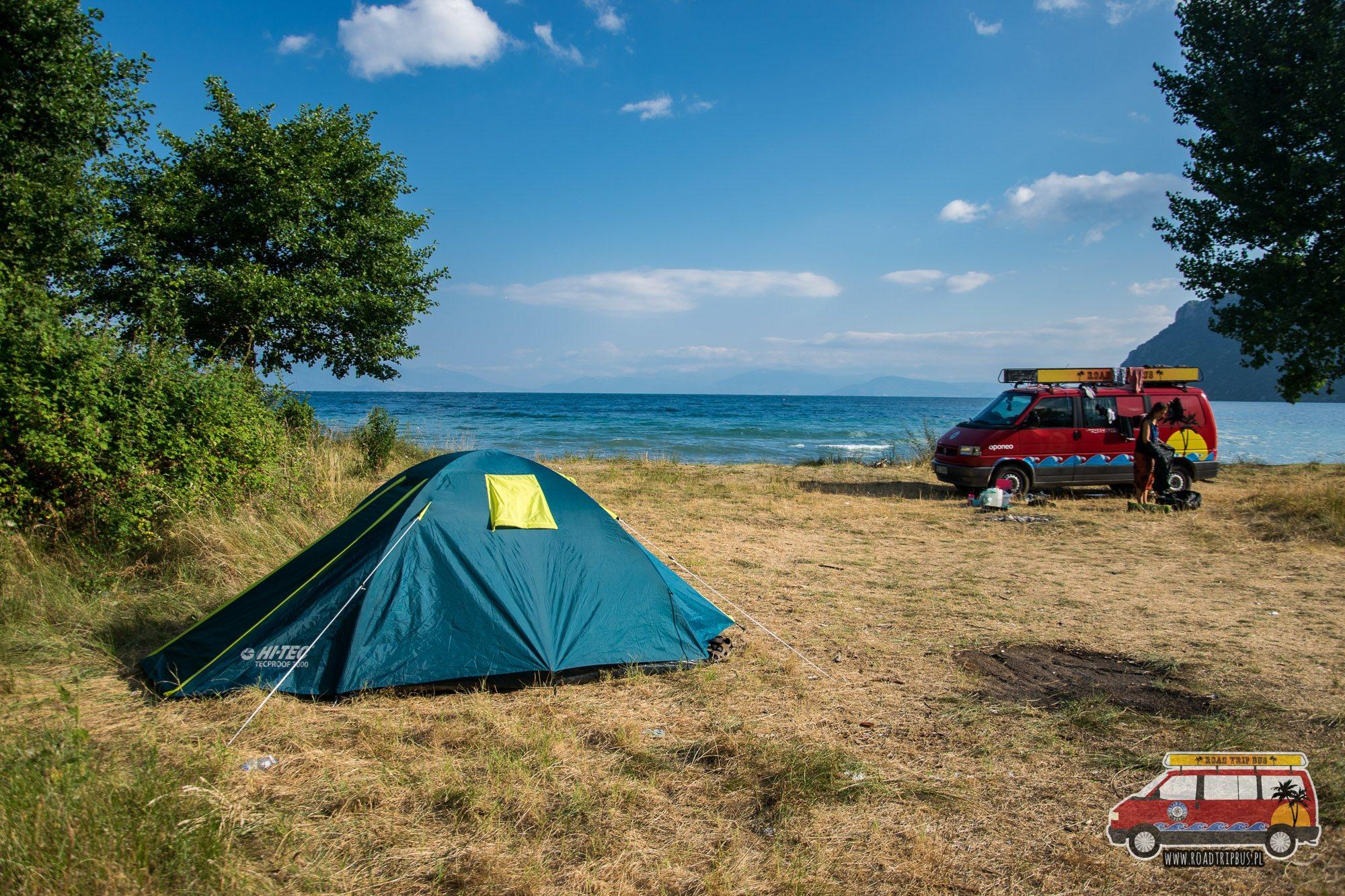 dziki kamping w macedonii